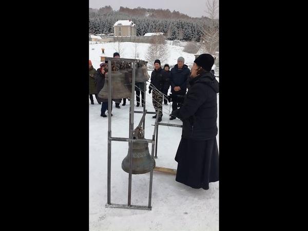 Звон руководителя Новосибирской школы звонарей Алексея Талашкина