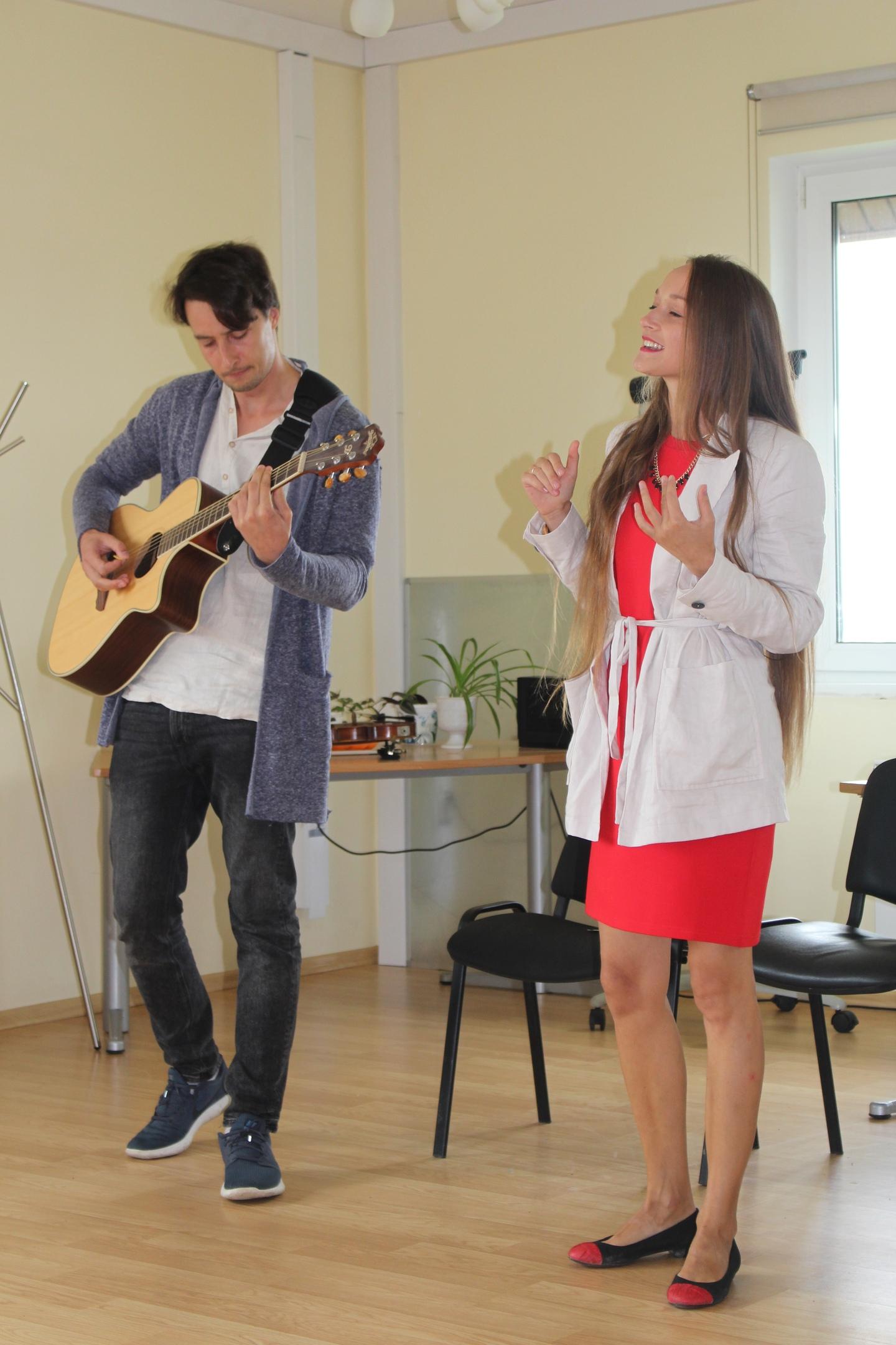 Август концерт в Доме надежды на Горе