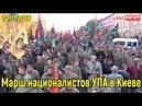 Марш нацистов УПА шабаш канадско бандеровских птенцов в Киеве 14 10 2018