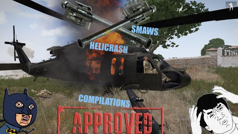 ARMA 3 - KING OF THE HILL ➤ ➤ RHS HARDCORE ➤ ➤ HELICRASH FOR SMAWS
