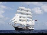 Парусные судна - это красиво, но и очень опасно в шторм. Sailing ship.