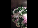 Свадебный букет из холодного фарфора керамическая флористика Якиной Гульназ