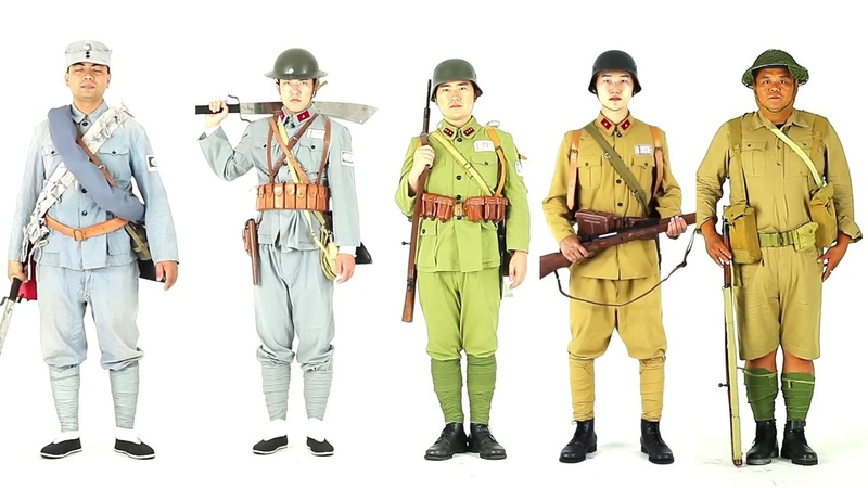 Chinese Army Uniform in 100 years First edition