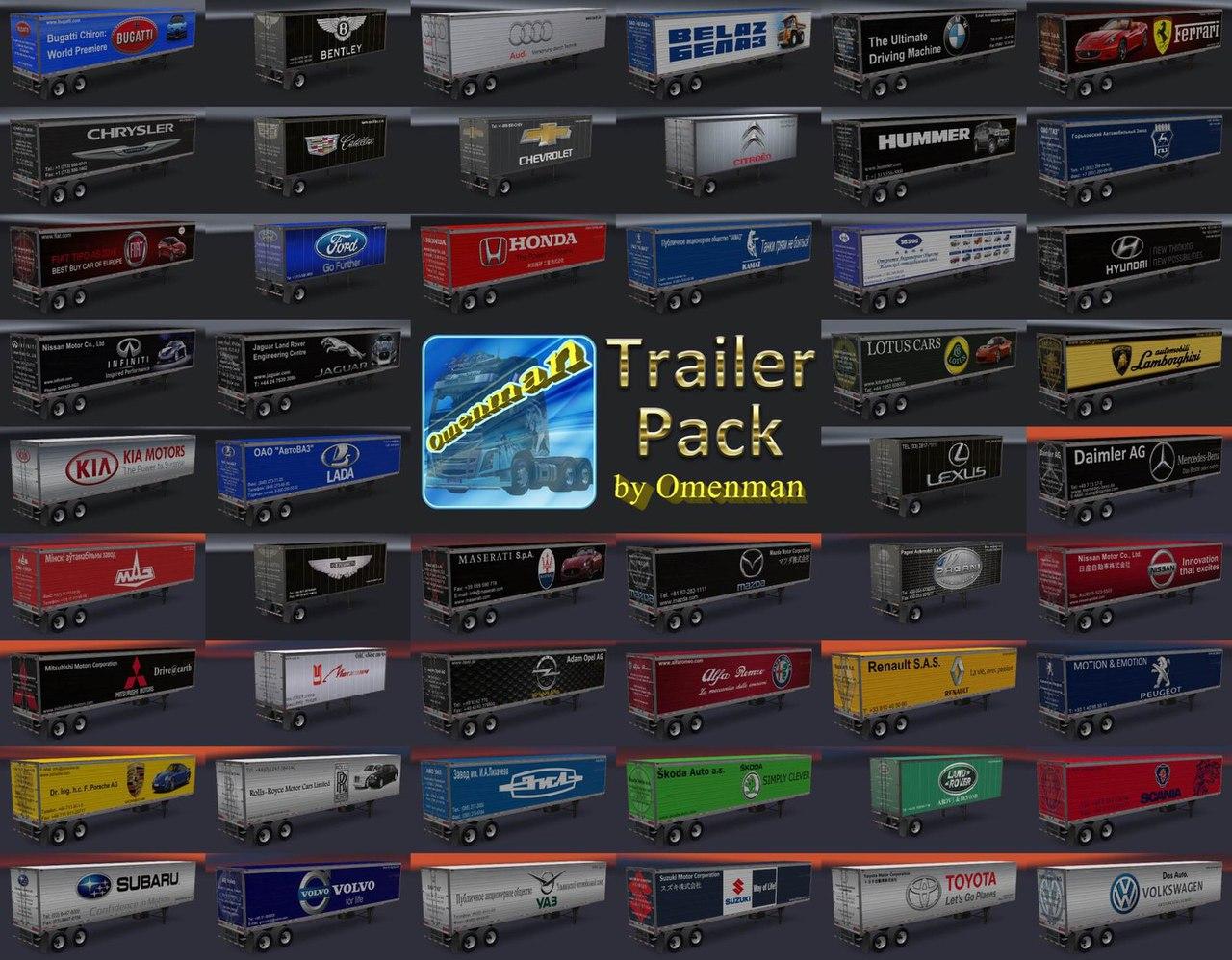 TRAILER PACK CARS V1.02.00
