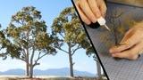 Terrific Trees using Woodland Scenics Armatures (It is possible!) Model Scenery Tutorial
