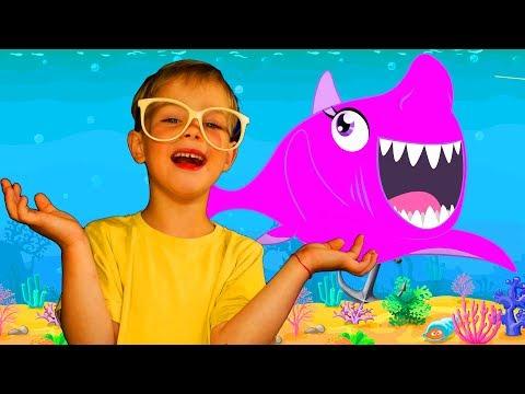 Baby Shark Kids Songs Nursery Rhymes with Animal Songs by Mirik Yarik