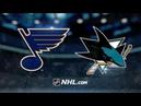 St Louis Blues vs San Jose Sharks Nov 17 2018 Game Highlights NHL 2018 19 Обзор Матча