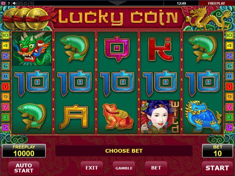 Обзор игрового автомата Lucky Coin (удачливый карп)