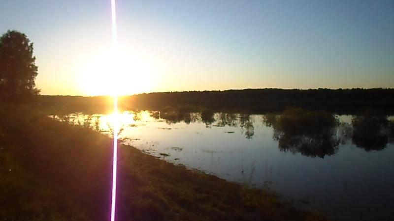 Закат на Сухоне-реке! TV