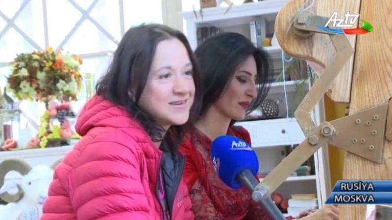 В Москве продолжается Осенние дары Азербайджана организованный Фондом Гейдара Алиева