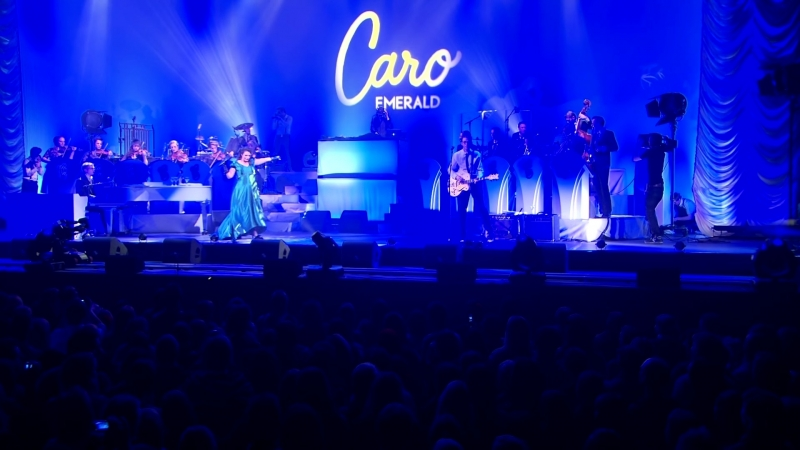 Caro Emerald with the Grandmono Orchestra Live in Concert at the Heineken Music Hall
