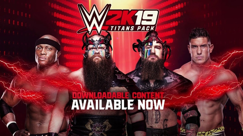 WWE 2K19 Titans Pack Available Today