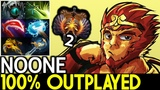 Noone Monkey King 100 Outplayed Pro Mid Player Top 2 MMR 7.20 Dota 2