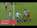 Liverpool 0 – 1 Reading - Match highlights - FA WSL (30th September 2018)