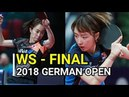 ISHIKAWA Kasumi (JPN) Vs SUH Hyowon (KOR) [WS-Final] 2018 GERMAN OPEN - Full Match/HD1080p60