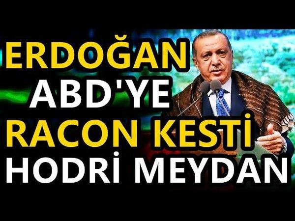 Erdoğan'dan ABD'Ye Münbiç Raconu, Varsa Cesareti Olan Buyursun!