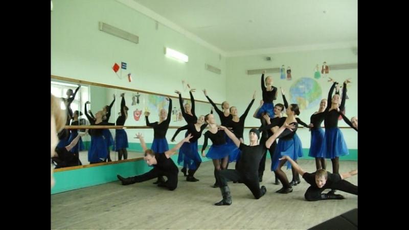 фрагмент с Экзамена-танец КемГУКИ.
