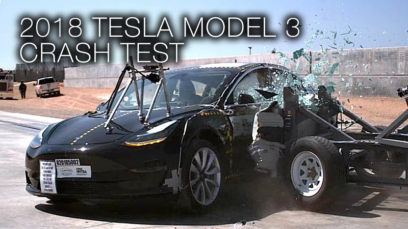 Tesla Model 3 (2018) Side Crash Test