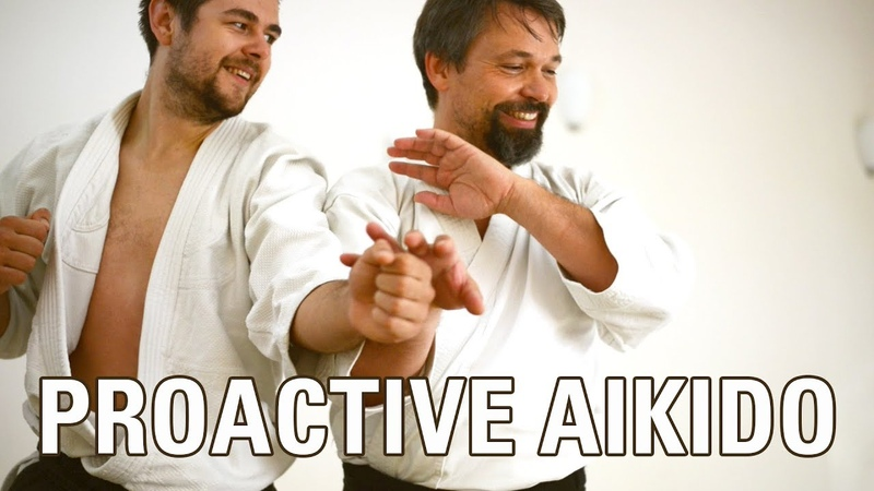 Advanced AIKIDO training - PROACTIVE DEFENSE, ATEMI, TAI SABAKI flow, by Konstantin Rekk