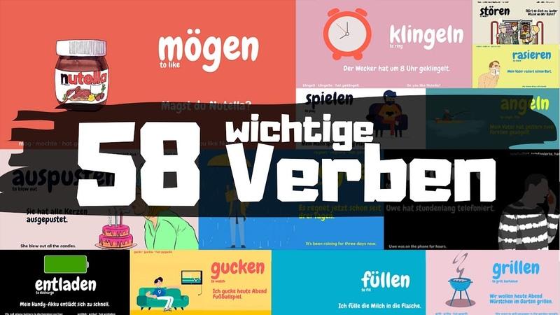 Deutsch für Dich 5: 58 wichtige Verben mit Beispielen *im Alltag
