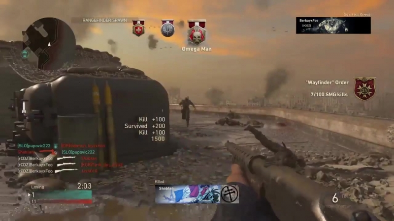 They'll never take me alive! COD WWI