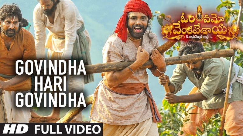 Govindha Hari Govindha Full Video Song Om Namo Venkatesaya Video Songs Nagarjuna Anushka Shetty