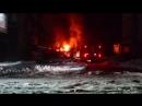 Пожар в районе Вокзала Бийск 31.03.18