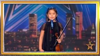 Youlan toca el violín y se lleva un Pase de Oro   Audiciones 3   Got Talent España 2019