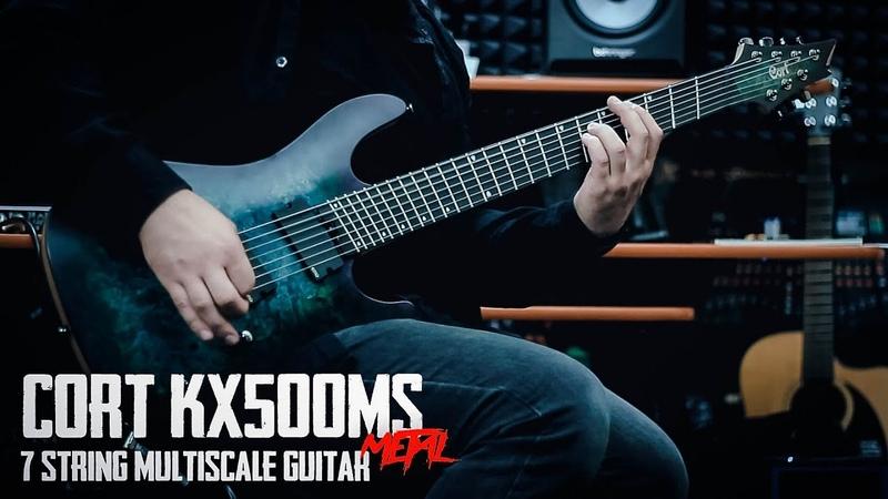CORT KX500MS - 7 String Multiscale Guitar - Metal Demo REUPLOAD