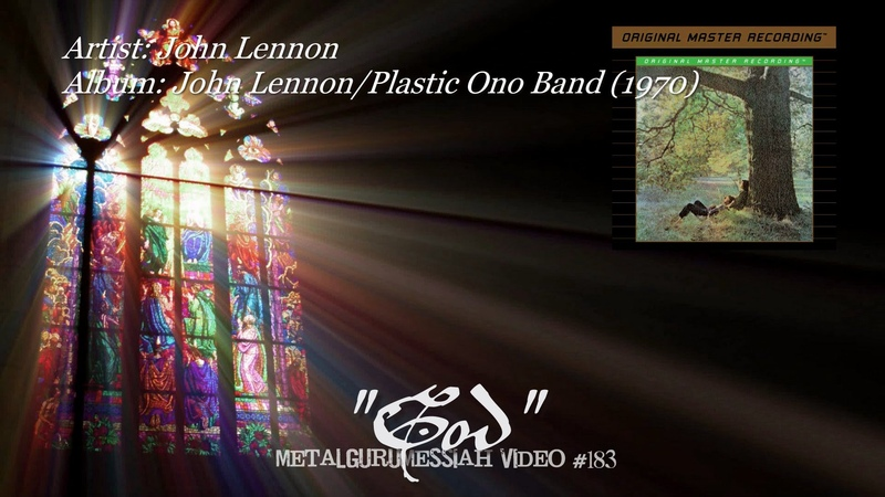 John Lennon God 1970 FLAC Remaster HD 1080p ~MetalGuruMessiah~