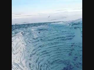 Тление прекратилось: хоккеисты «Салавата Юлаева» показали Сибайский карьер с высоты Сегодня в Сибай приехали х