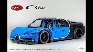 Lego Bugatti Chiron 1:8