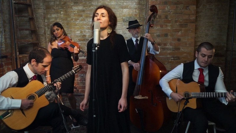 Sweet Georgia Brown Gypsy Jazz UK - LBM Feat. Irene Serra