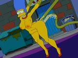 Порно Marge Simpson and Tentacles