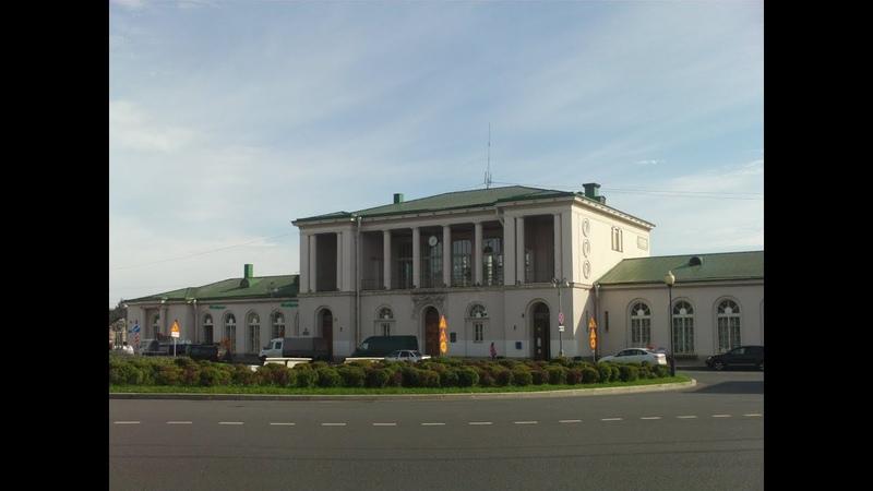 Г. Пушкин - Вокзал и Привокзальная площадь