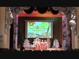 Старокиреметский СДК на сцене районного Дома культуры на районном конкурсе фольклорных коллективов