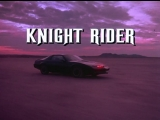 Заставка к сериалу Рыцарь дорог _ Knight Rider Opening Credits