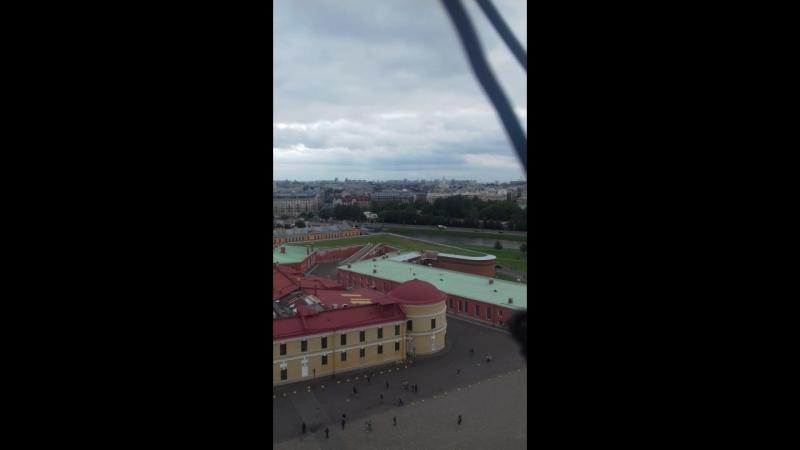 Петропаловский собор обзорная площадка