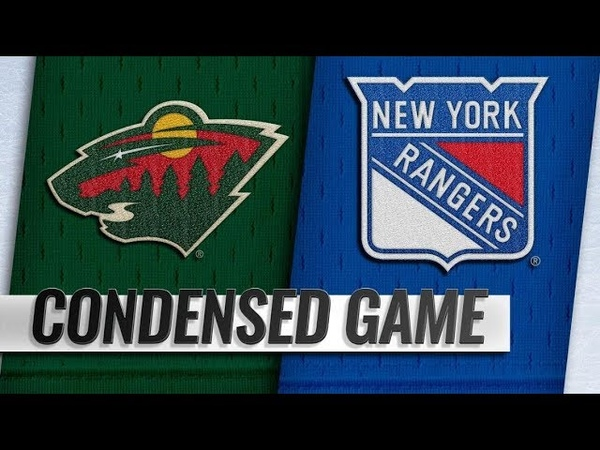 Minnesota Wild vs New York Rangers | Feb.21, 2019 | Game Highlights | NHL 201819 | Обзор матча