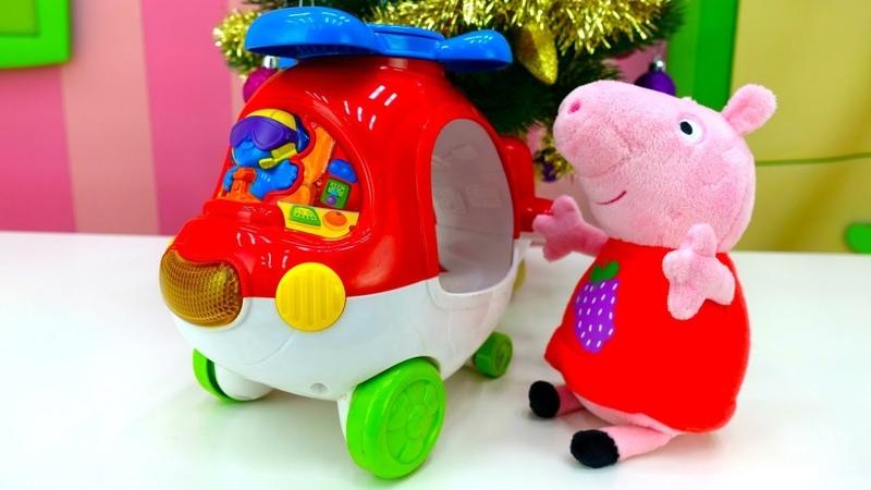 Свинка Пеппа поёт про вертолёт. Песни для детей.