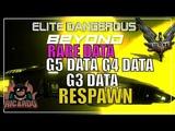 Elite Dangerous G5, G4 &amp G3 Rare Data Respawning