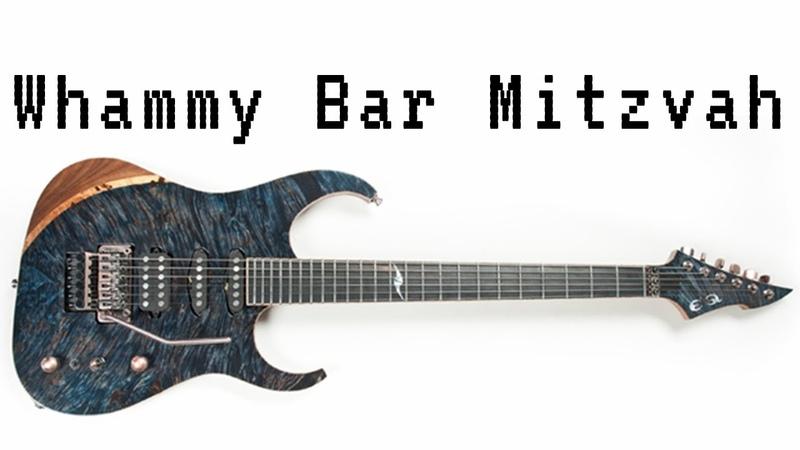 Whammy Bar Mitzvah - Ben Levin Improv Journal