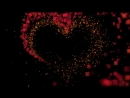 PARTICLES FORM HEART SHAPE ROMANTIC LOVE HEART PARICLES LOVE GLITTERY ANIMATED BACKGROUND LOOP.mp4