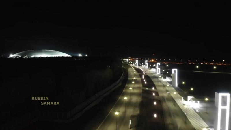 "Ночной стадион ""Самара Арена"" Samara Russia"