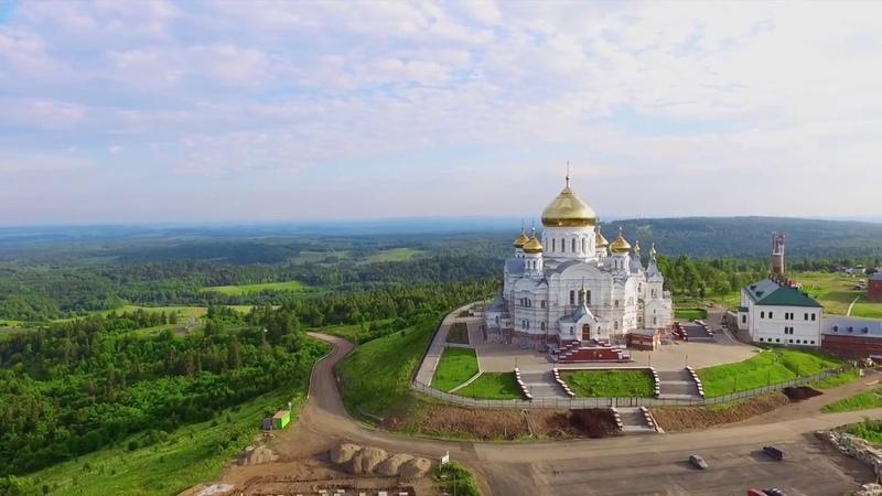 Белогорский монастырь с высоты птичьего полета. DJI Phantom 3 Final cut