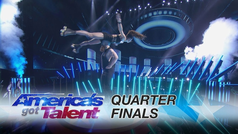 Billy Emily England: Skaters Deliver Death-Defying Performance - America's Got Talent 2017