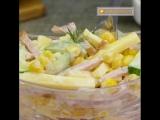 Топ-3 салата с кукурузой