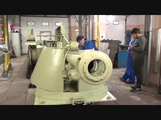 """Реставраторы технического центра парка """"Патриот"""" завели двигатель немецкой """"Осы"""" спустя 50 лет."""