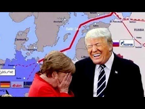 Отказаться от Северного Потока! Трамп ШАНТАЖИРУЕТ Европу УБЫТКАМИ в обмен на американский газ!