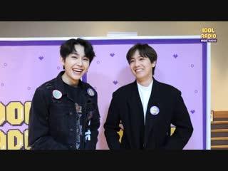 BACKSTAGE : Ильхун и Ли Хонки (FTIsland) @ MBC 'Idol Radio'